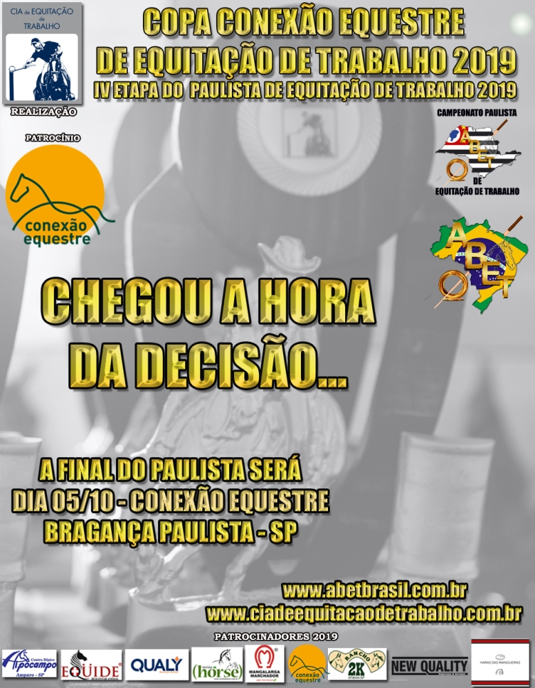 IV ETAPA PAULISTA 2019 - DIVULGAÇÃO I